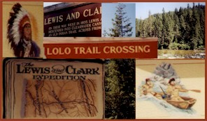 Image | Lolo Trail Crossing | Lewis and Clark Expedition